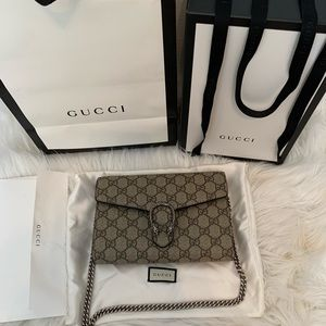 Gucci Bags - Gucci Dionysus Wallet on a Chain